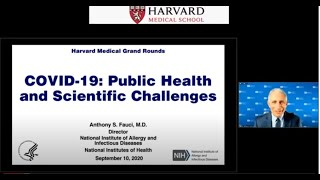 COVID-19: Public Health and Scientific Challenges with Dr. Anthony Fauci