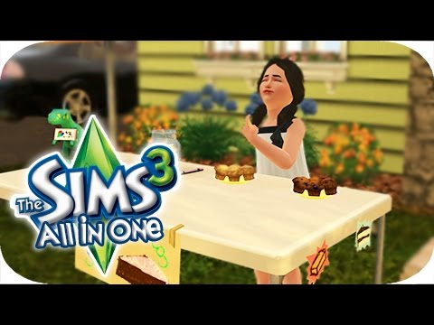 The Sims 3 All In One | Part 28 - Bake Sale fail!