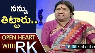 TDP Leader Nannapaneni Rajakumari Over Her Attire   Open Heart With RK   ABN Telugu