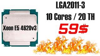 Xeon E5 4620v3 – будет ли неизвестный CPU ТОПом за свои деньги Не всё так просто разбираемся