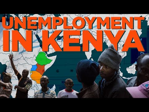 40% of Kenyans are unemployed and things are not getting better