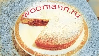 Рецепт пирог Зебра(Рецепт пирог Зебра мука -400гр масло -250гр молоко-1/2стакана +4 столовые ложки молока ванильный сахар-1 пачка..., 2014-01-13T12:43:14.000Z)