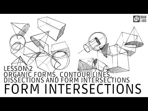 Drawabox Lesson 2, Exercise 4: Form Intersections