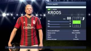 Great Ball opening PES 2015 myclub UEFA Stars Kroos!