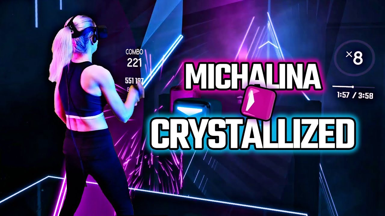 Download Camellia - Crystallized • DLC • Expert+ • Beat Saber • Mixed Reality