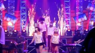Agnes Monica LIVE - Paralyzed English Version with Lyrics - Shake It Off - COZ WE BELIEVE CONCERT