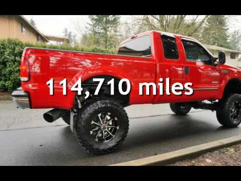 1999 Ford F-250 Super Duty Lariat 7.3L DIESEL 6 Speed Manual Lift for sale in Milwaukie, OR