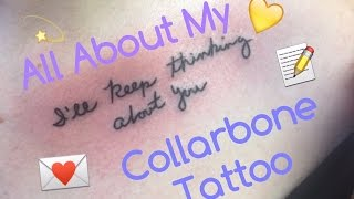 All About My Collarbone/Chest Tattoo!