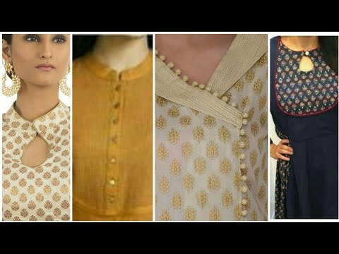 sewing dress#design/easy making home made kurti neck designs 2019/new girls collection