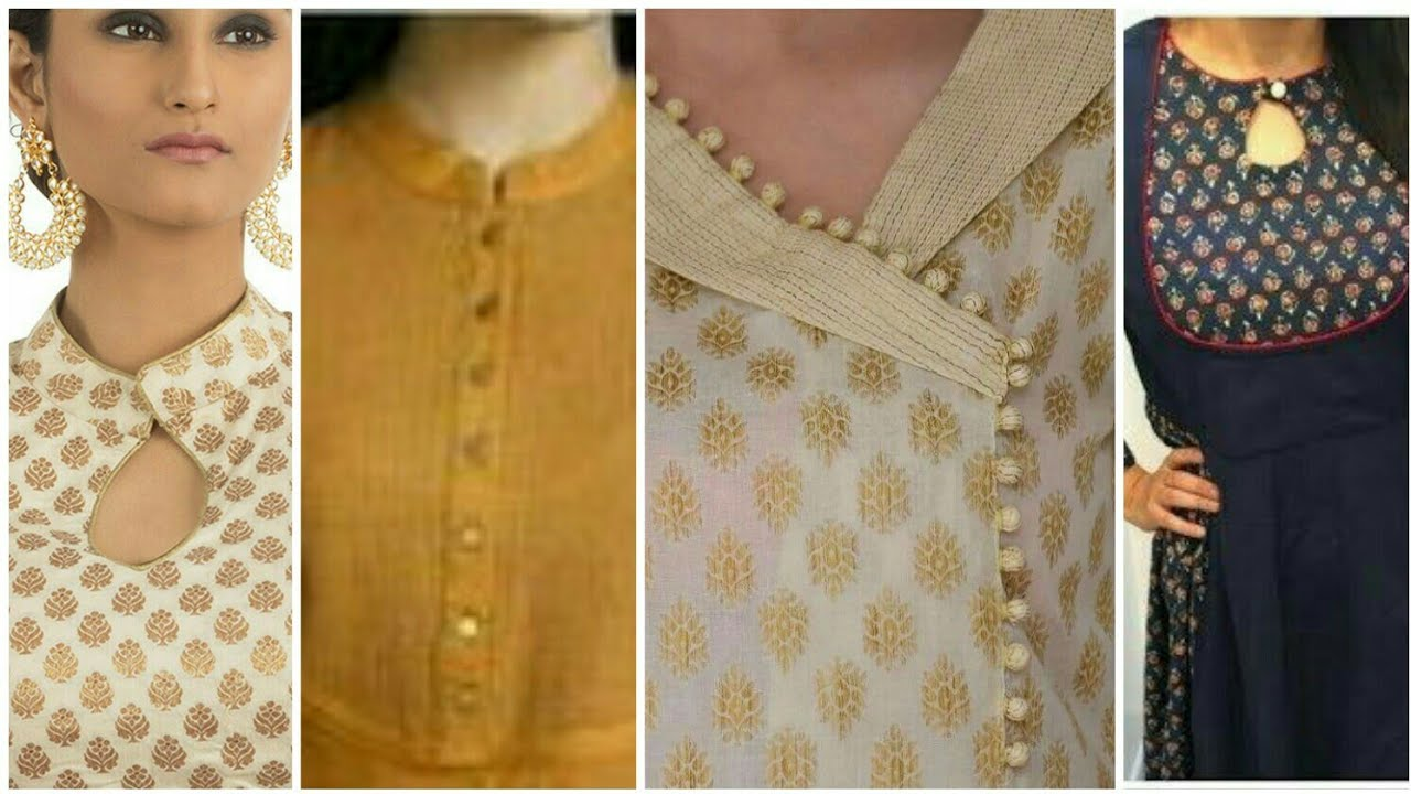 sewing dress#design/easy making home made kurti neck ...