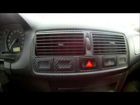 VW Golf 4 Carbon Interior - Wrap with Carbon Fiber Vinyl