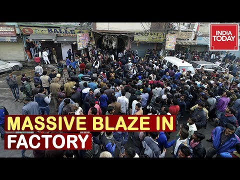 Massive Blaze In Delhi Factory: Cause Of Fire Uncertain, Owner Of Building Absconding