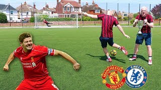 THE FA CUP FINAL FOOTBALL CHALLENGE
