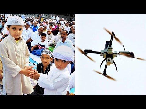 Curfew on Eid in Kashmir , choppers and drones to keep vigil | वनइंडिया हिन्दी