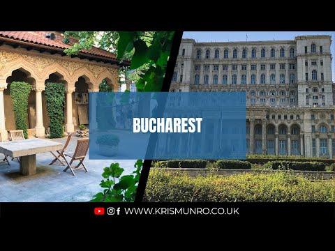 Travel Vlog : Bucharest 🇷🇴 (Romania) 2017 : Part 1