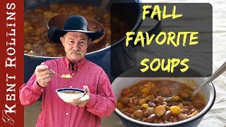 Favorite Soups: Cheesy Potato Soup, Fresh Cabbage and Thyme and Hearty Hodge Podge Beef Soup