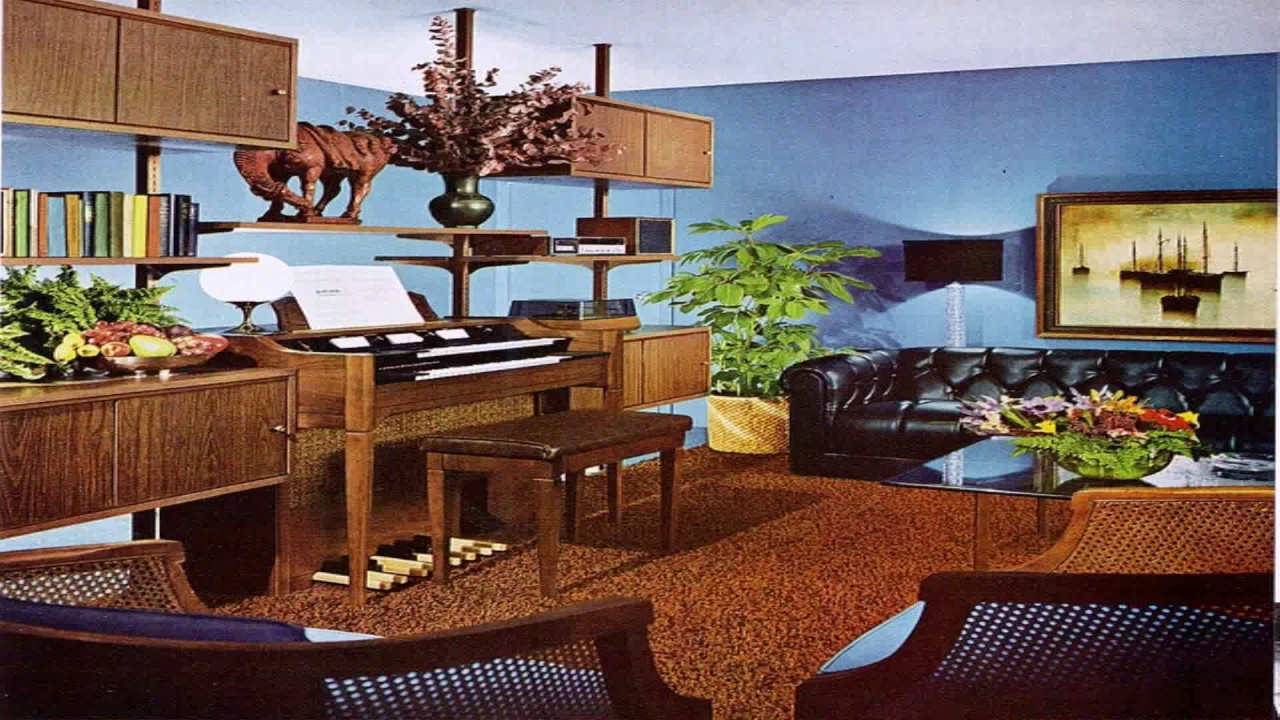60s style house decor youtube for 60s apartment design