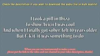 mike posner i took a pill in ibiza instrumental download