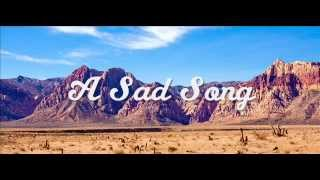 Jan & Dan - A Sad Song