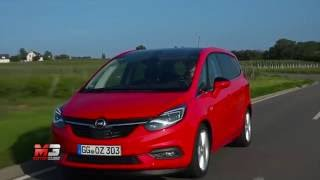 New opel zafira 2016 - first test drive only sound