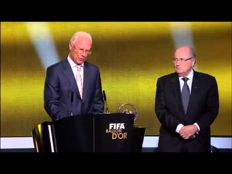 Hasil FIFA ballon D'or 2012 | BDbola.com Travel Video