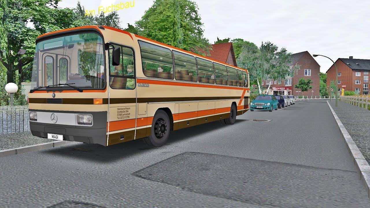 Download OMSI 2 - Mercedes-Benz O303 - Ruhrau V2 - Line 165