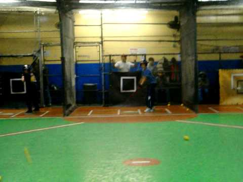 Astoria Sports Complex - Indoor Batting Cages - YouTube
