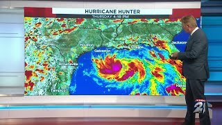 Tropical Storm Hanna has formed in the western Gulf