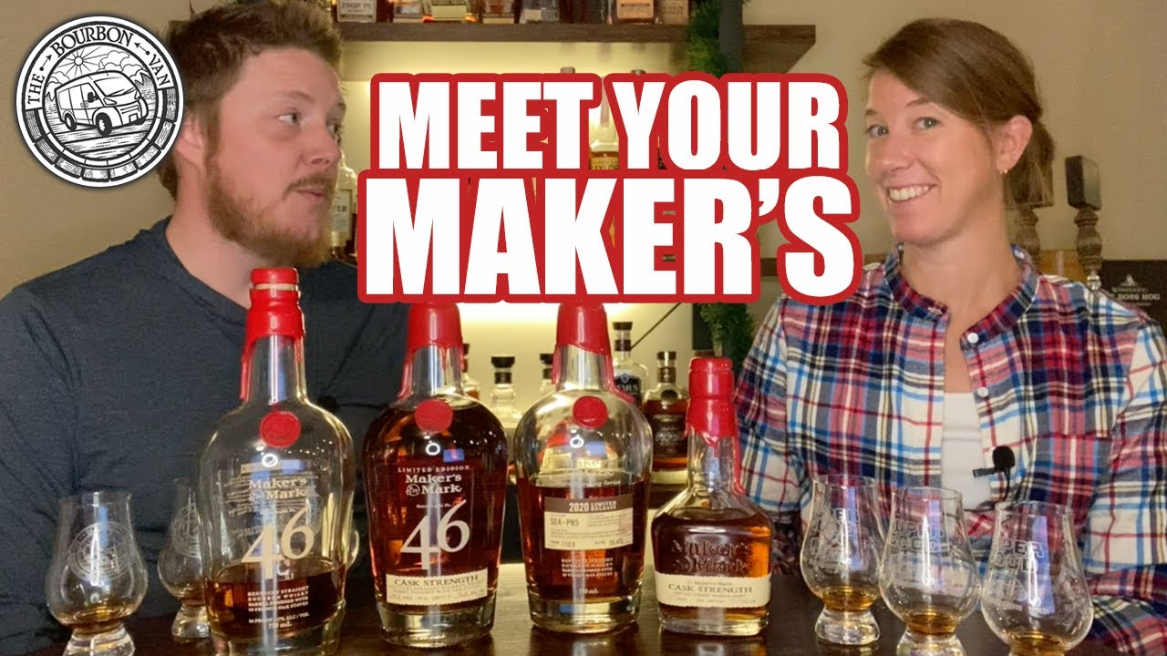 Download Maker's Mark Cask Strength Wheated Bourbon Whiskey Flight