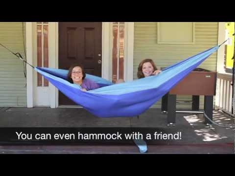 How To Hammock Eno Style Youtube