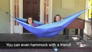 how to hammock eno style