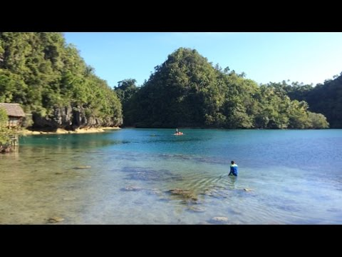 Tinago Lagoon of Taganaan, Surigao del Norte / Lapsay / Island / Holiday Resort 2016 Adventure