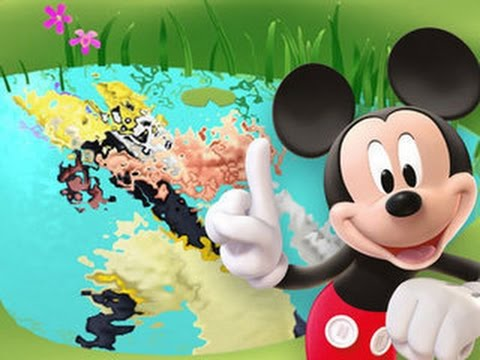 Color And Play Clubhouse Disney 3D Cartoon Game