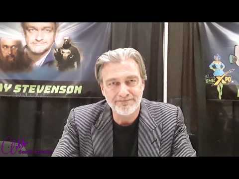 Ray Stevenson Interview(The punisher :warzone,Dexter,and,Thor) at Ps Comic Xpo