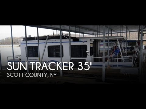 [UNAVAILABLE] Used 1996 Sun Tracker 35 Cabin Cruiser Houseboat in  Georgetown, Kentucky