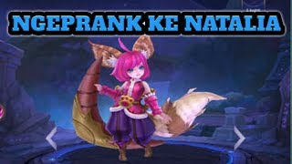 MOBILE LEGEND  , Nana ngeprank Natalia pake hack drone map kocaakkkk