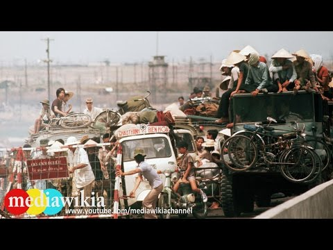 Historic pictures of the Fall of Saigon in Vietnam War
