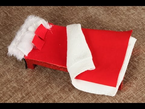 How to Make an Elf on The Shelf Bed