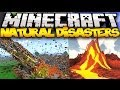 Minecraft: NATURAL DISASTERS! (Volcanoes, Meteors, Earthquakes, & MORE!) | Mod Showcase
