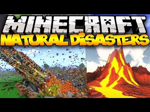 Minecraft Natural Disasters Volcanoes Meteors Earthquakes
