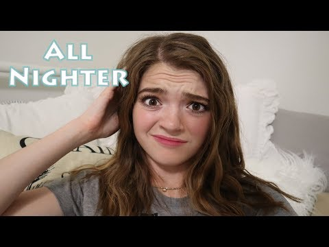 pulling an all nighter on a school night Almost CAUGHT! / Jordan Mae Williams