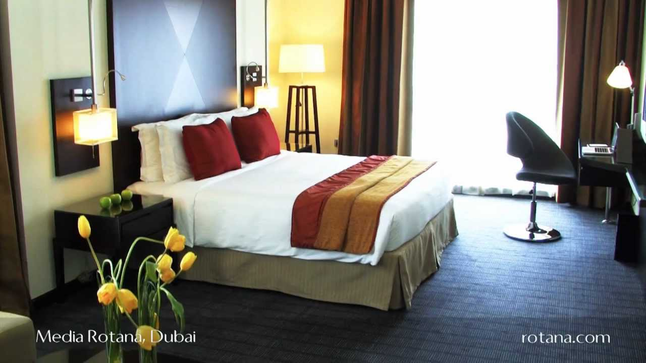 Rooms Suites Media Rotana Hotel In Dubai United Arab Emirates