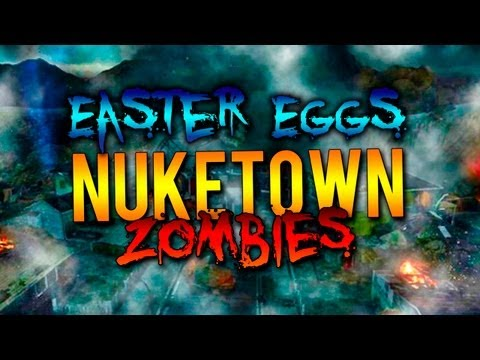"Easter Eggs - ""Nuketown Zombies"" - Black Ops 2 ""Zombies"" ""Nevada USA"" Coop"