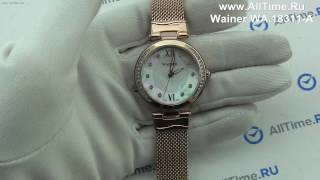 Обзор. Женские наручные часы Wainer WA.18311-A
