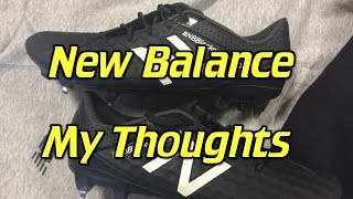 New Balance Soccer Cleats/Football Boots - My Thoughts