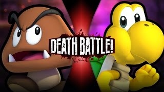 Goomba VS Koopa | DEATH BATTLE! | ScrewAttack!