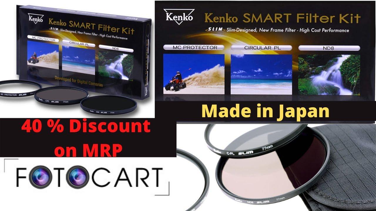 Kenko 62mm Smart C-PL Camera Lens Filters