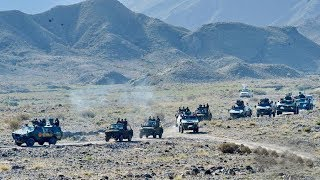 CHINA ARMY DRILL in KYRGYZSTAN [Shanghai Cooperation Organisation Joint Military Exercises]