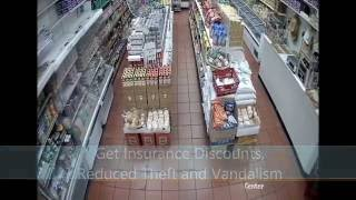 Supermarket Security Camera System Installation NY, Grocery Store