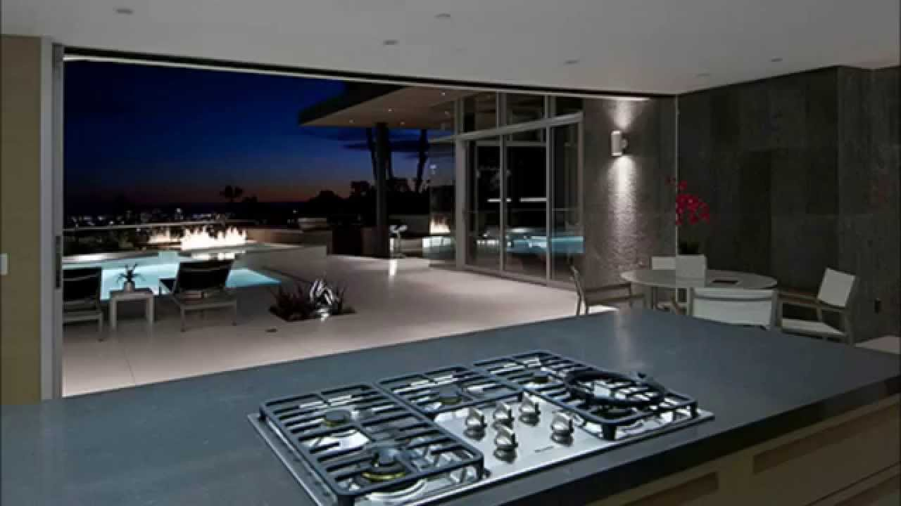 Million dollar modern home los angeles youtube for Modern million dollar homes